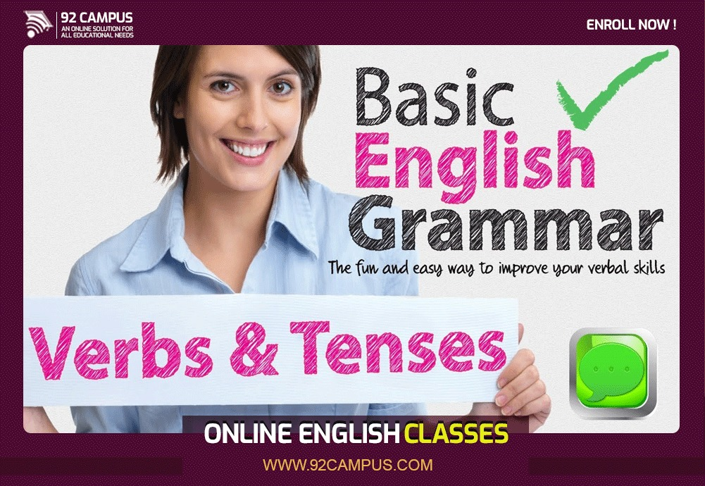 Learn basic English grammar from our online Quran academy