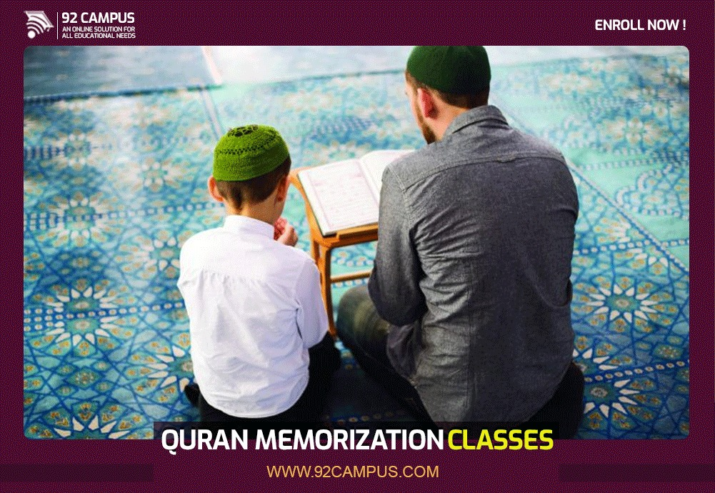 Quran Memorization at out Online Quran Academy