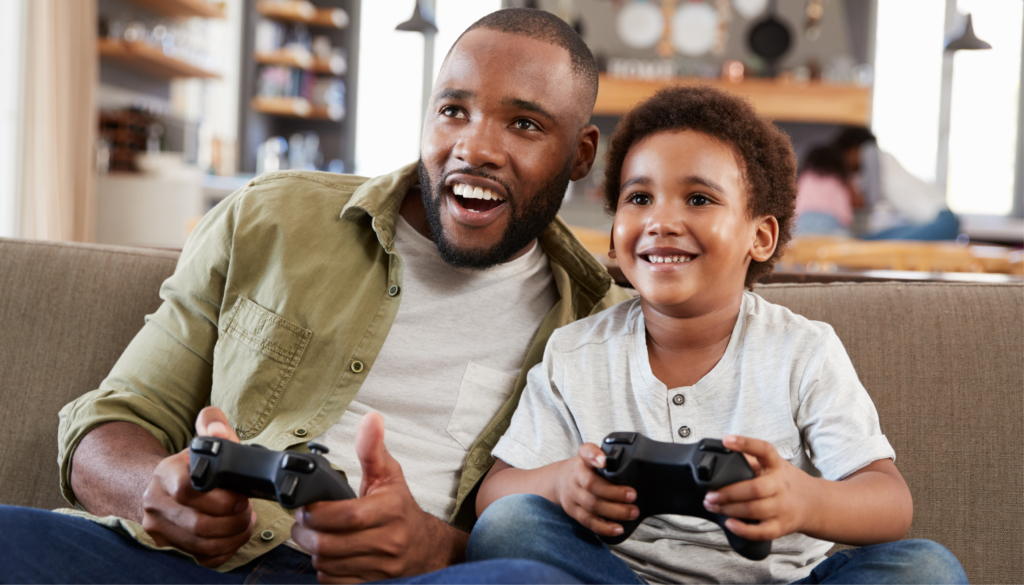 Don't let your digital children ruin their lives by playing games all the time.