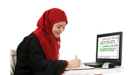 Flexibility and speed in Quran learning online.
