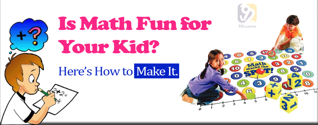 Is math fun? Here's how you can make it.